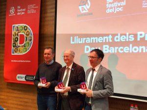 François Gandon, David Parlett y Rob Daviau