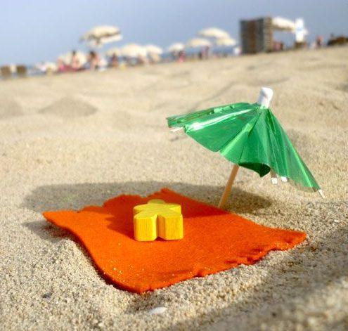Juegos de mesa en vacaciones